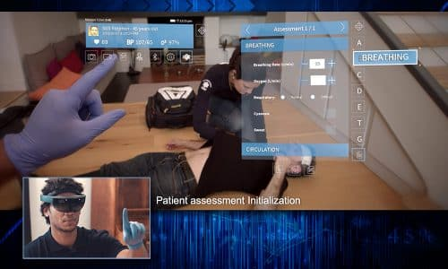 Not Science Fiction:  HoloLens Telemedicine Comes to EMS