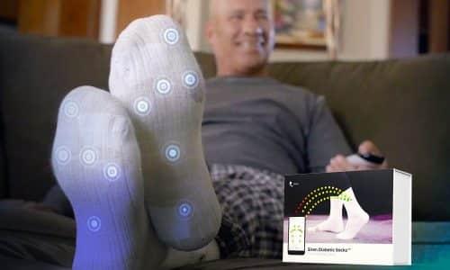 Microsensor Socks to Prevent Foot Ulcers