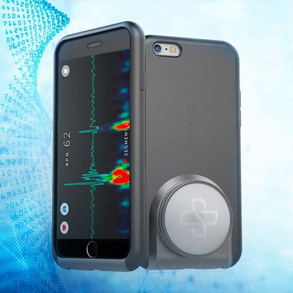 Steth IO is a Stethoscope in a Smartphone