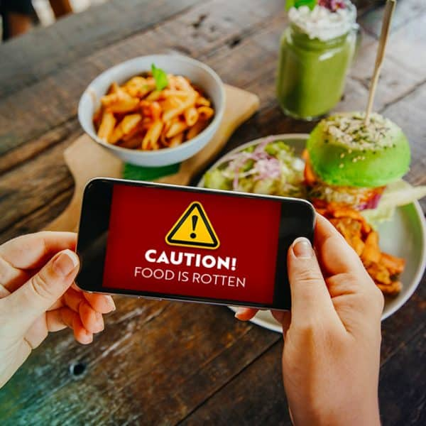 Device Alerts Smartphones to Spoiled Food