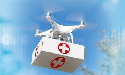 Drones Have Potential to Soar as Medical Life-Savers
